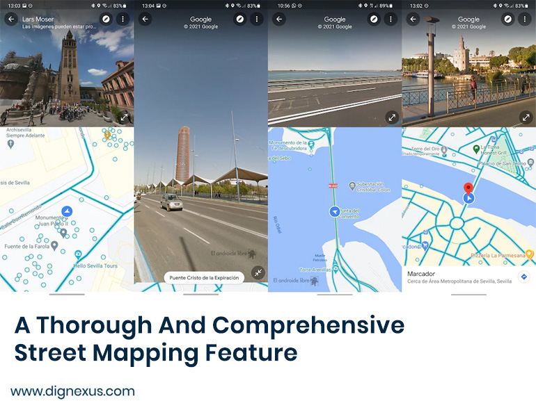 Street Mapping Feature